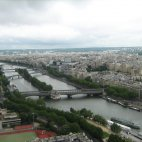The Seign from Eiffel Tower Paris